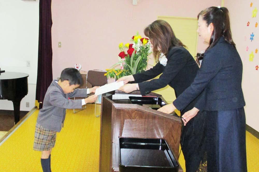 利根二葉幼稚園 卒園式・修了式