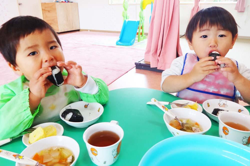 利根二葉幼稚園 昼食