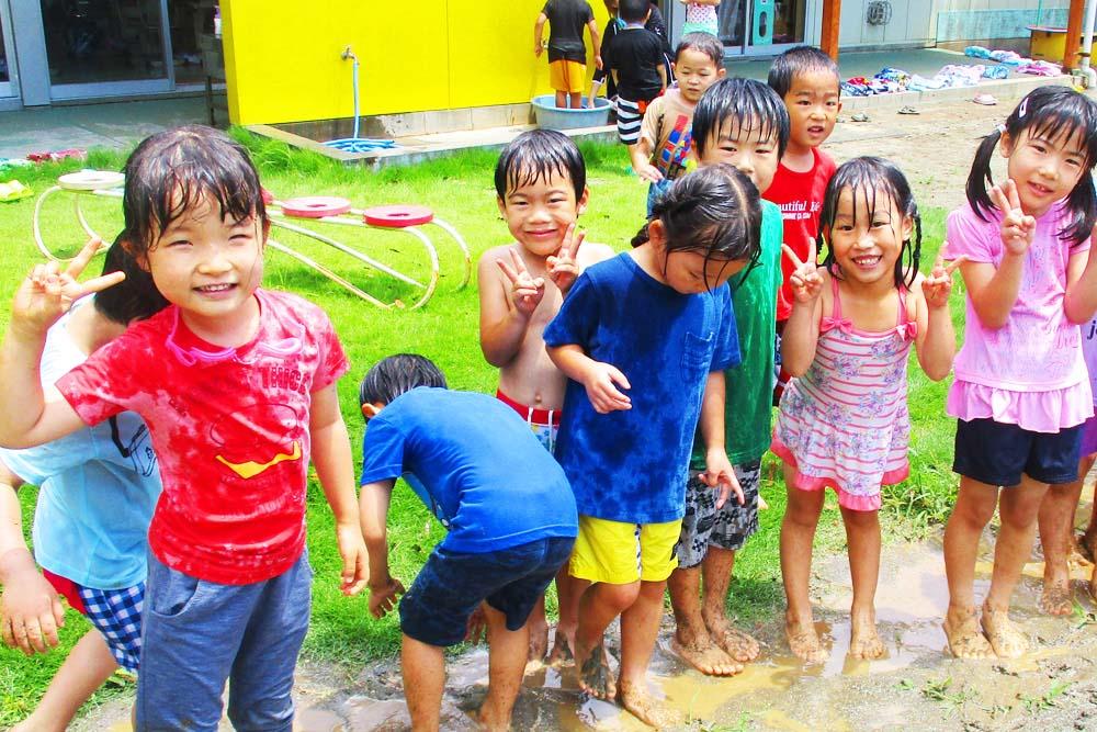 利根二葉幼稚園 自由遊び